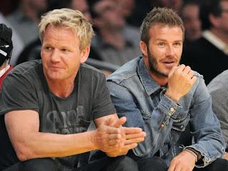 David Beckham abandonne Gordon Ramsay