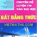 Sách chuyên đề luyện thi đại học phần Bất Đẳng Thức - Trần Văn Hạo (chủ biên)