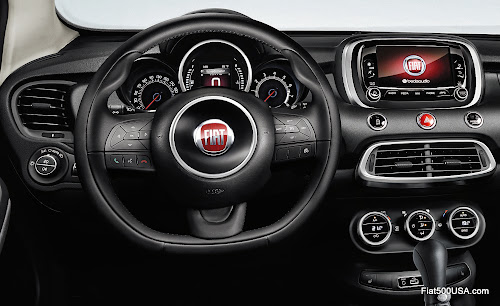 Fiat 500X Cross Dash