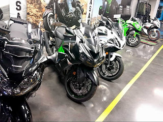 Kawasaki Motorcycle History Ninja ZX-14R