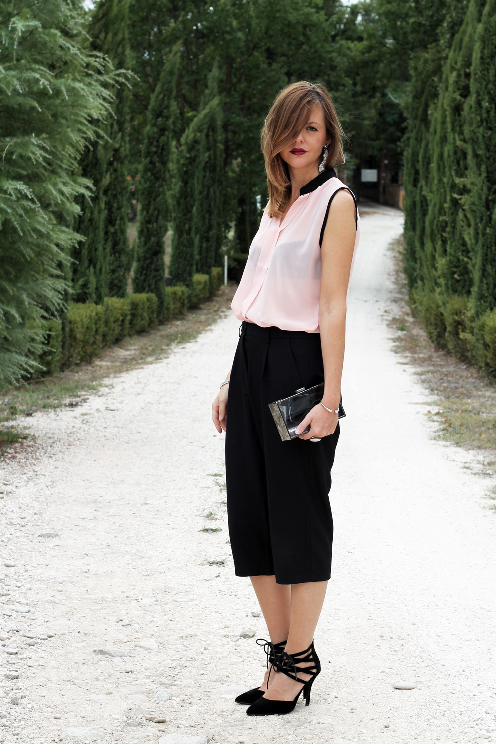 how-to-wear-a-culottes-outfit-ideas