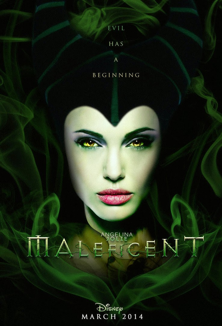 Maleficent with Angelina Jolie