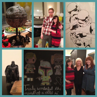 october star wars baby shower