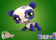 Littlest Pet Shop Real puzzle Panda