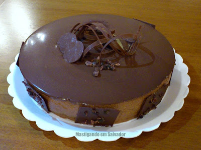 Atelier Doce Melange: Torta Mousse de Chocolate