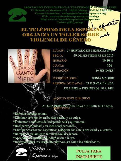 Ayuda contra la violencia de género en Málaga