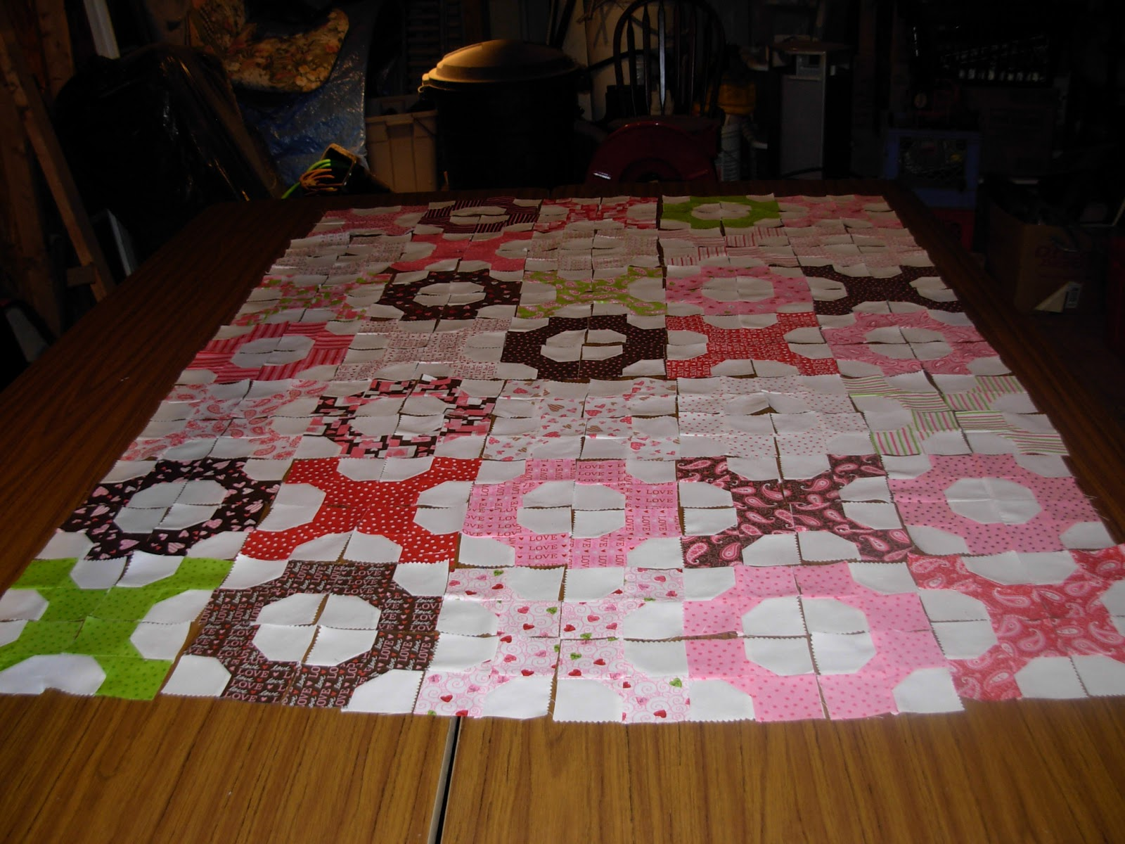 Man Cave Quilt Kit : What about rheema invading the man cave