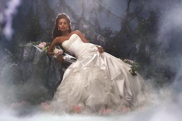 Once upon a blog alfredo angelo launches 2012 disney for Princess tiana wedding dress
