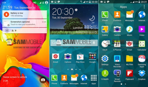Preview: Android L for Samsung Galaxy S5