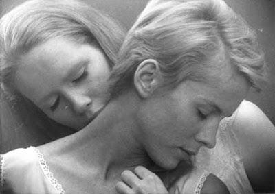 Bibi Anderson and Liv Ullmann in Ingmar Bergman's Persona