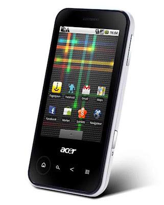 Spesifikasi dan Harga Acer beTouch E400
