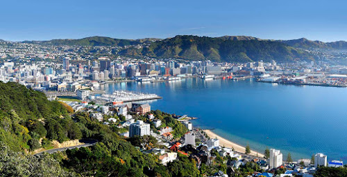 Wellington city New Zealand