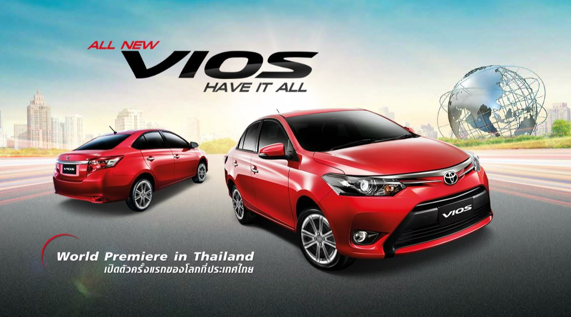 The New Toyota Vios 2013