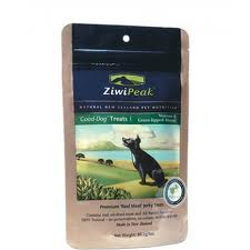 package of ziwi peak treats, venison and mussel version