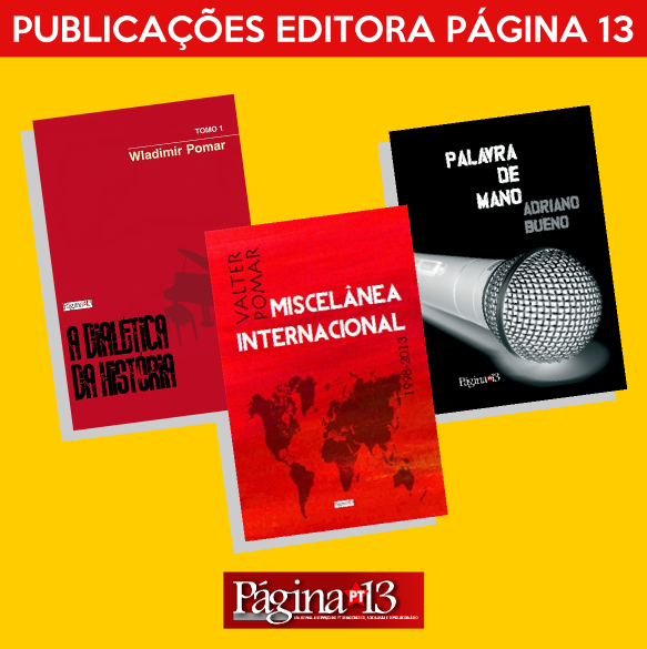 Publicações da Editora Página13