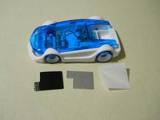 kit de maqueta de coche en miniatura