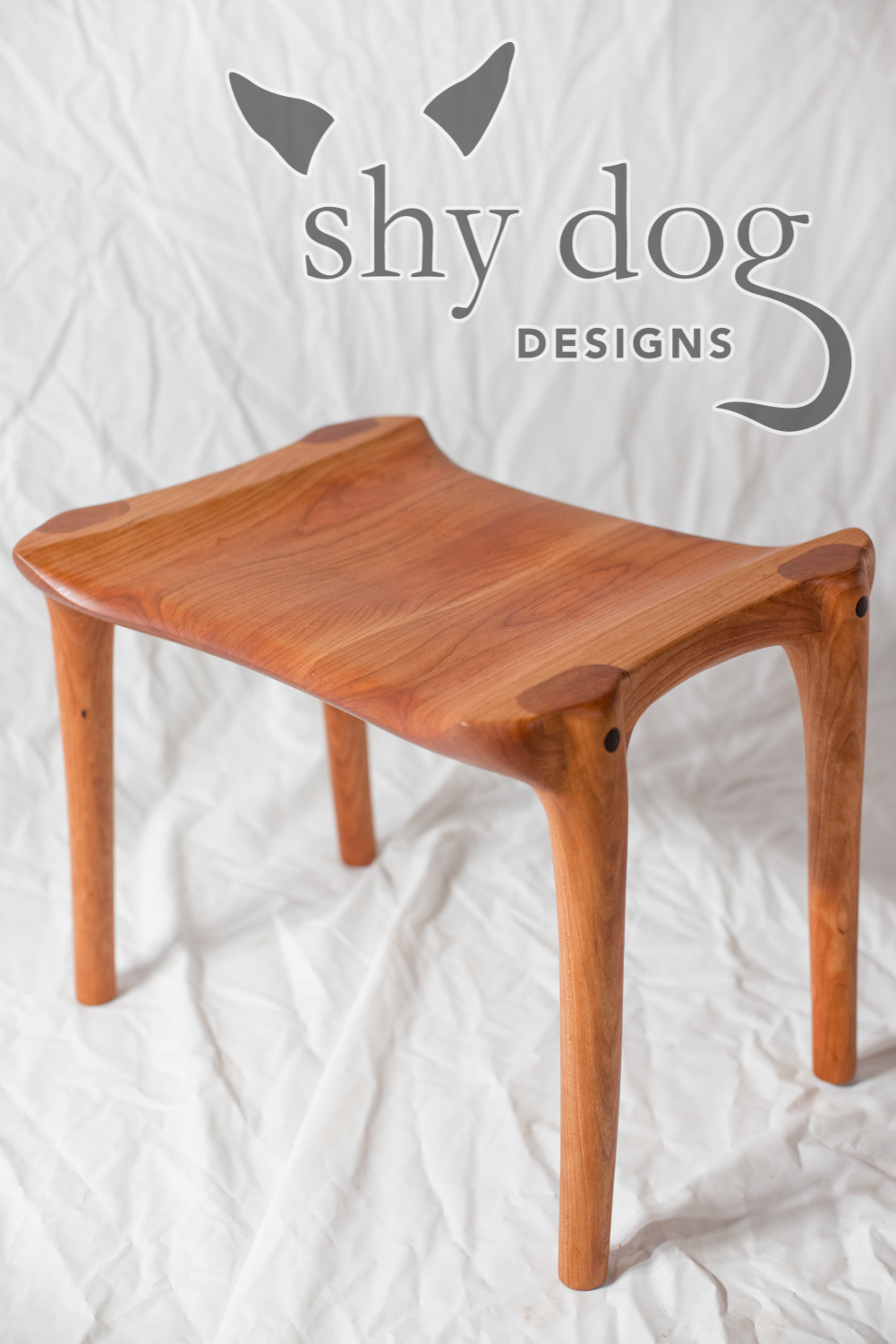 Shy Dog Designs Maloof Inspired Sculpted Chair And Ottoman