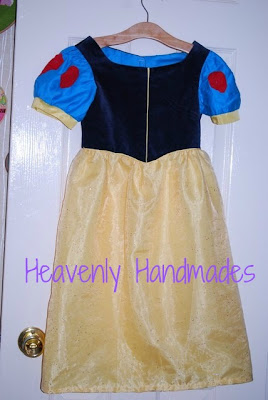 Snow White Dress Tutorial by Heavenly Handmade