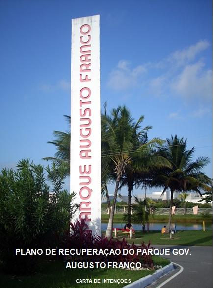 Plano de Recuperação do Parque Augusto Franco