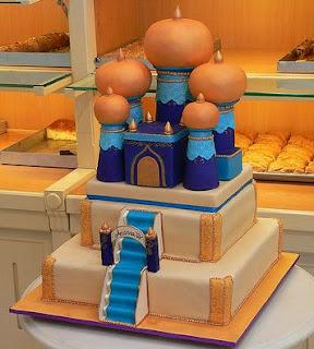 Tortas de Aladino para Fiestas Infantiles, parte 2