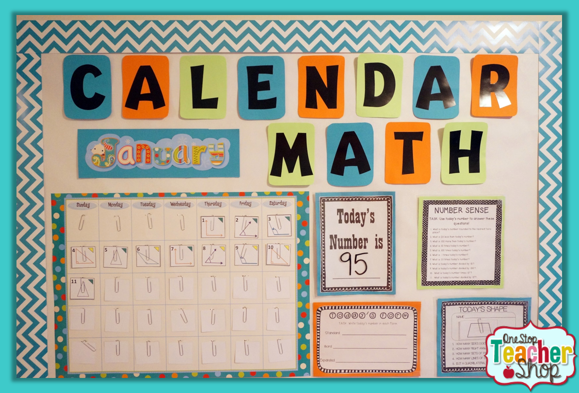 Calendar Ideas For Classroom : One stop teacher shop teaching resources for upper