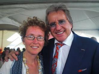 Met Lee Touwers tijdens de Maarten memorial race 2011.