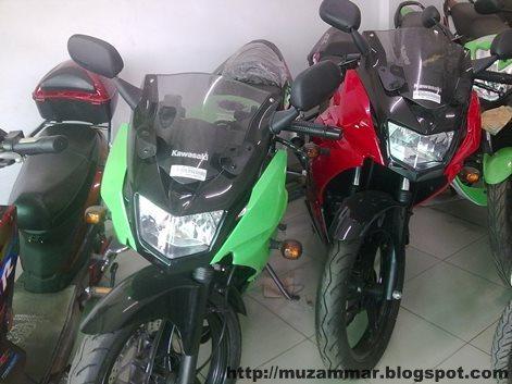 Harga Kawasaki Ninja 150 Series 2013 Juni 2013 di Medan