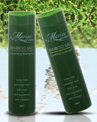 Marine Essence Shampoo & Marine Essence Body Wash