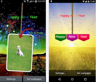 New Year Live Wallpaper 2015 Android