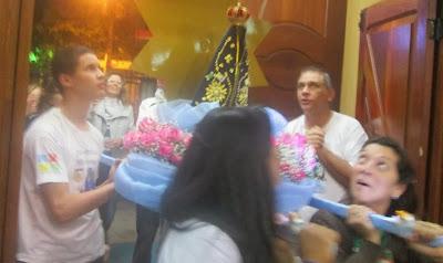 JM presente na Novena à Nossa Senhora Aparecida, em Guarulhos (SP)