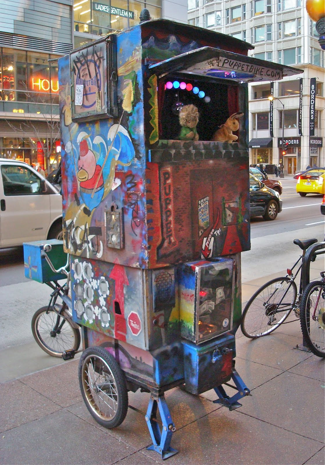 Puppet Bike Chicago