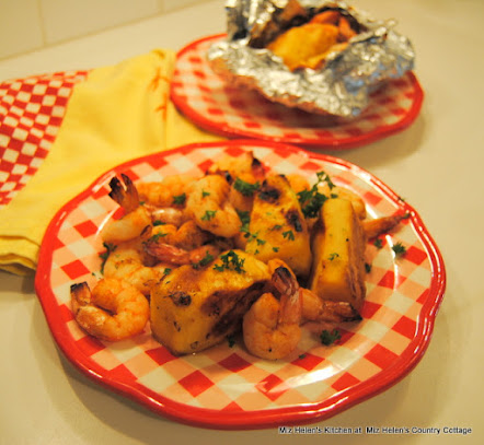 Pineapple Shrimp Ka Bobs