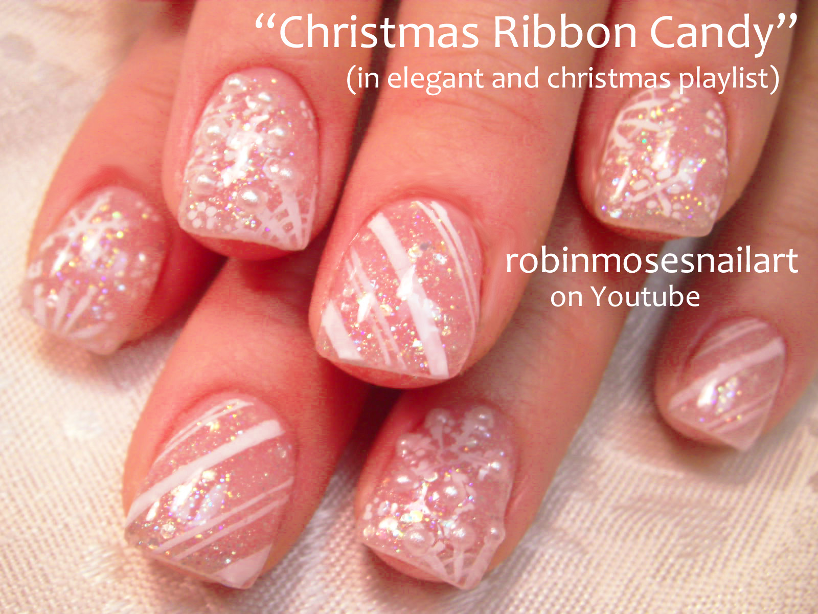 Naughty Naughty Nail Art Christmas Nail Art Naughty Or Nice