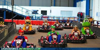 mario kart irl Morning (Afternoon?) LOL