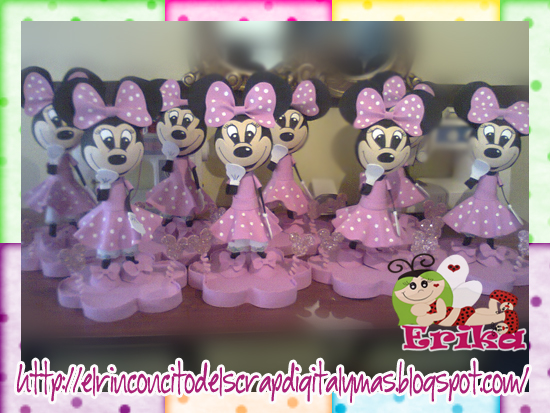 Centros De Mesa Minnie Mouse