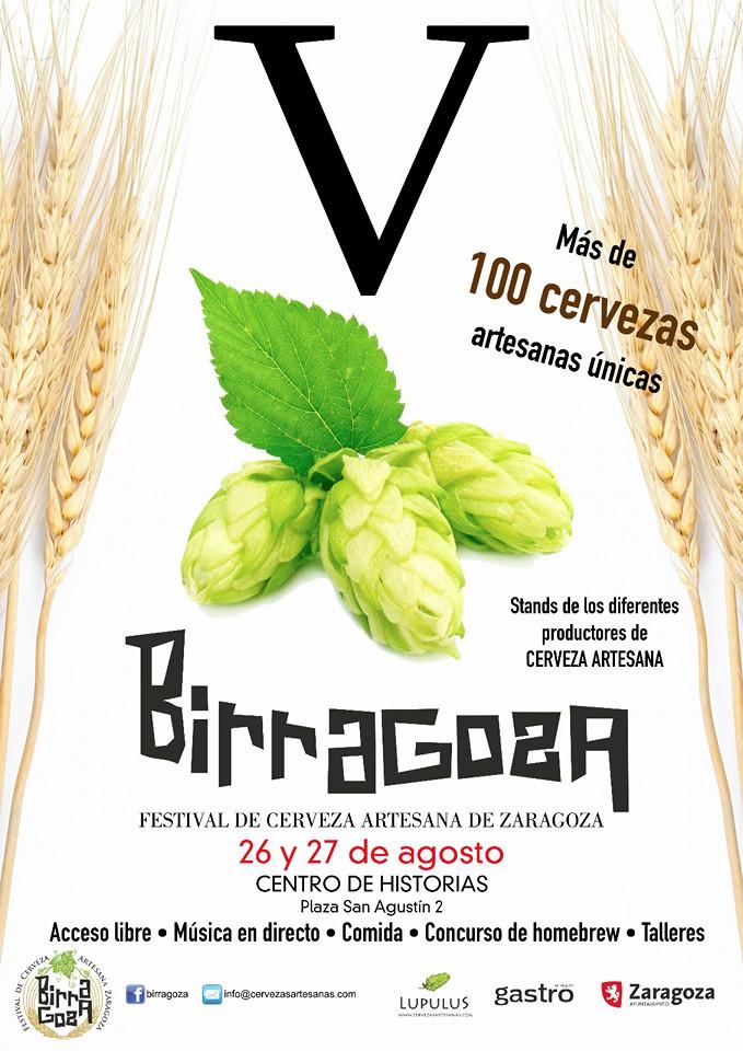 BIRRAGOZA. V Festival de la cerveza artesana en Zaragoza