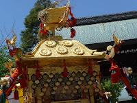 小山郷の神輿