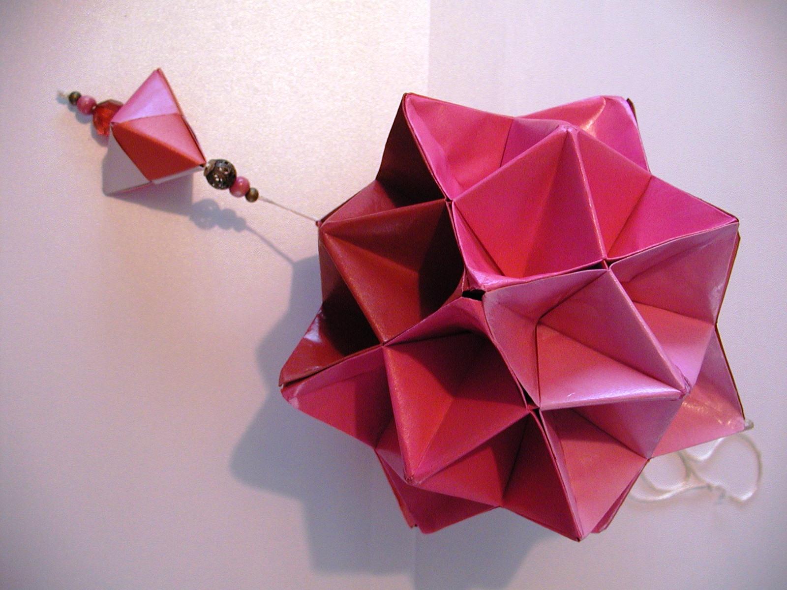 Origami Decoracion Pared ~ yakko origami decoraci?n para el local La grulla, Rivadavia 2883 MdP