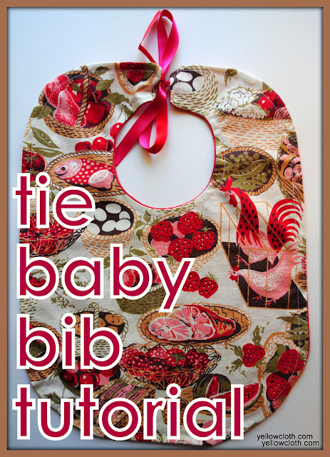 how to make a baby bib from mommy is coocoo