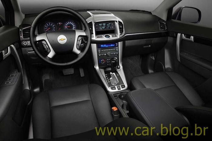 chevrolet captiva 2012 um carro potente car blog br. Black Bedroom Furniture Sets. Home Design Ideas