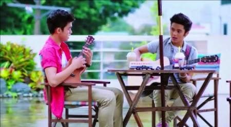 Inigo Pascual and Julian Estrada - Relaks, It's Just Pag-ibig music video