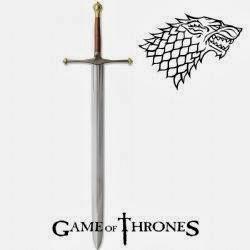 espadón hielo ned stark - Juego de Tronos en los siete reinos