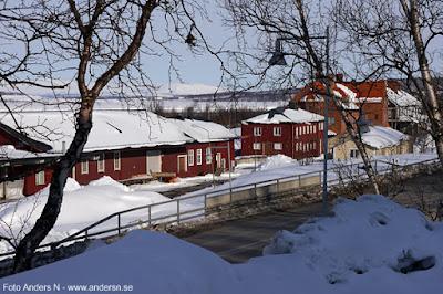 järnvägsområdet Kiruna