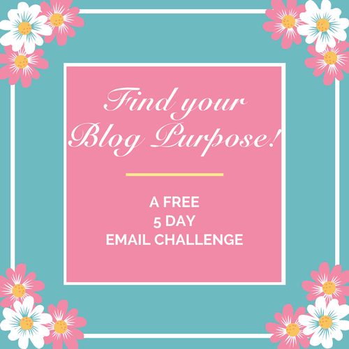 Papercraft Business Blog Purpose Challenge!