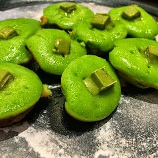 Resep Cara Membuat Kue Cubit green tea