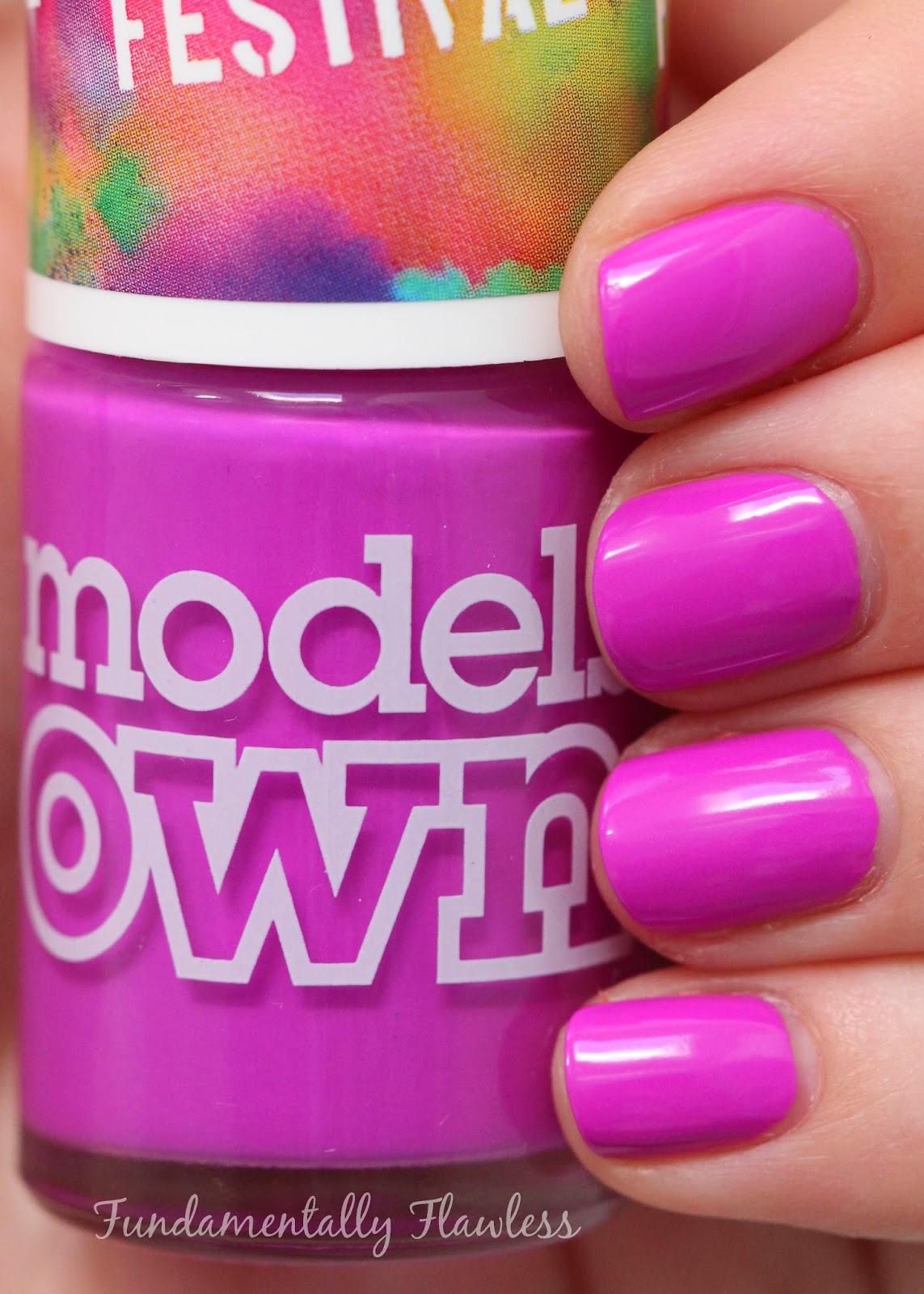 Models Own Festival Collection Purple Bandana swatch