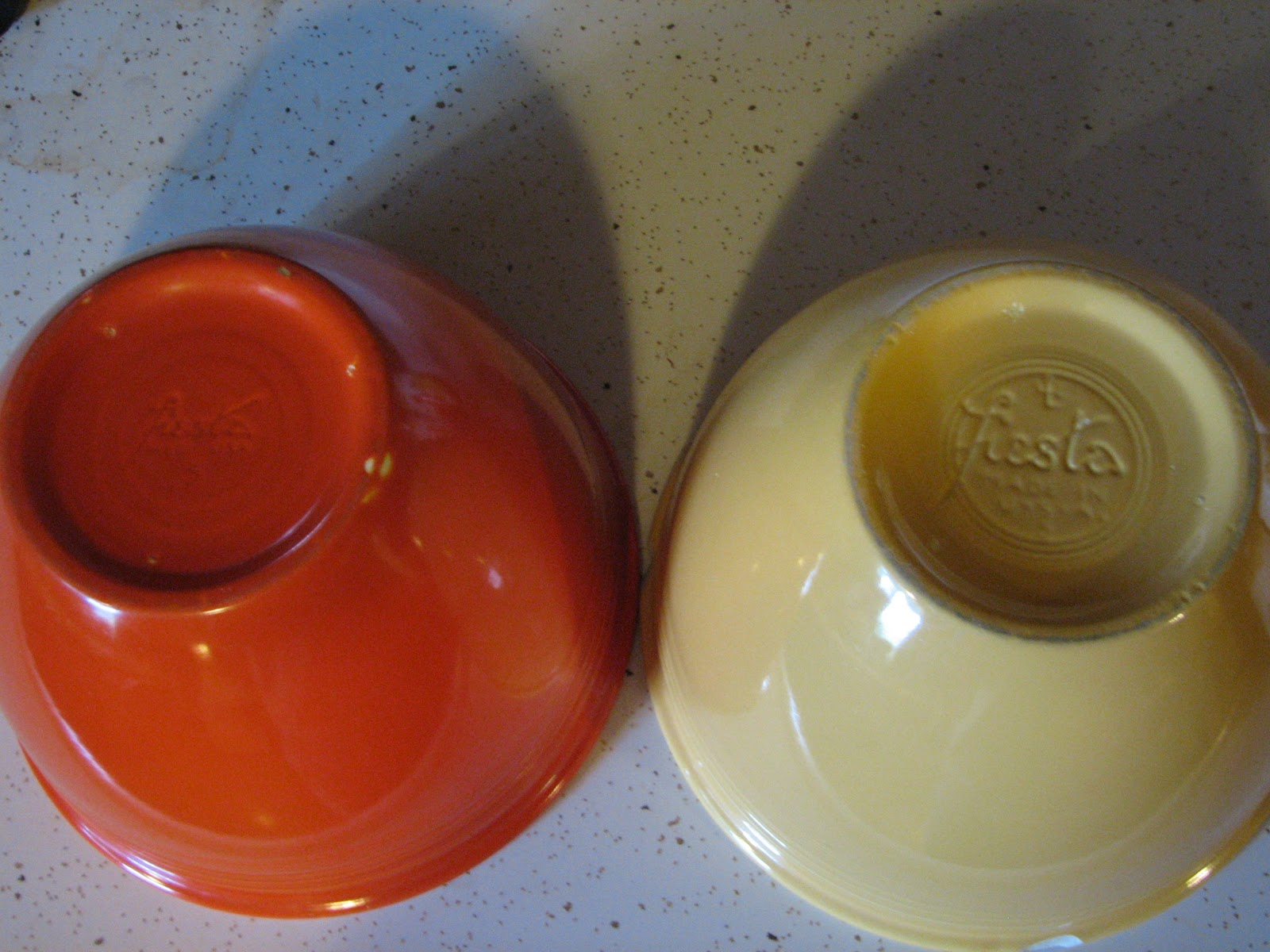 They Call This America: Vintage Fiesta mixing bowls