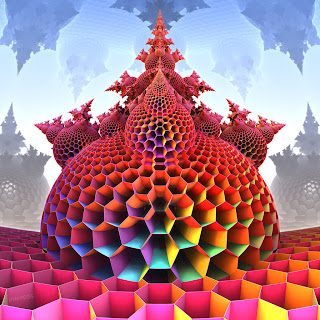 3d fractal art by psion