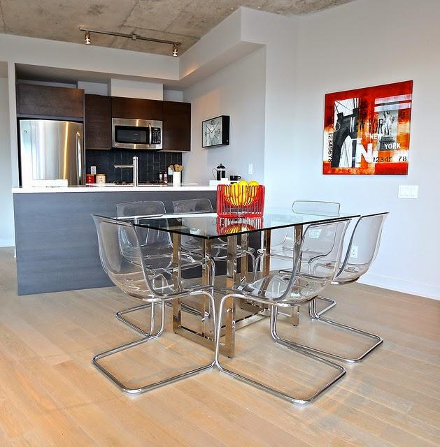gambar desain ruang makan minimalis