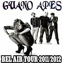 Guano Apes en concierto en Madrid y Barcelona en Octubre